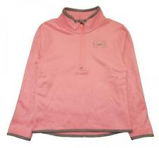 Under Armour Girls Pink & Gray 1/4 Zip Pull-Over Size 5