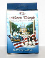 The Historic Traingle Playing Cards Deck Sealed  Williamsburg Jamestown Yorktown