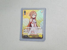 Weiss Schwarz Sword Art Online Asuna's Positive Feelings SAO/S26-E001R RRR