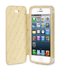 Melkco Premium Leather Case for Apple iPhone 5S/5 Diary Book Vintage Khaki H1544
