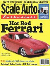 Scale Auto Enthusiast 123 1999 Hot Rod Ferrari NASCAR Chassis Interior Resin