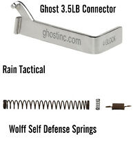 For Glock 19 Ghost 3.5 lb Trigger Connector & Wolff Self Defense Spring Kit