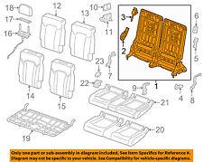 AUDI OEM 2017 Q7 Third Row Seat-Seat Back Frame 4M0885705EQA5