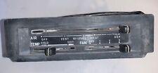 Climate Control / HVAC Control off Datsun 280Z. —B—