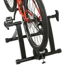 "Magnet Steel Bike Bicycle Indoor Exercise Trainer Stand 26"" 27""700C Bikes C4Y7"
