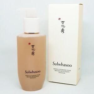 Sulwhasoo Gentle Cleansing Foam 200ml Mild Liquid Moisturizing Smooth K-Beauty