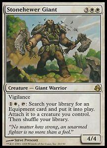 Géant tailleur de pierre - Stonehewer Giant - Magic mtg -