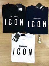 DSQUARED2 Icon T-Shirt Short Sleeves Slim Fit Embroidered (ICON) Logo I/C