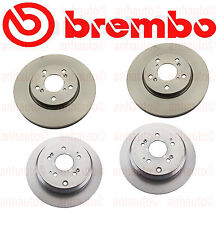 Honda Odyssey 05-10 Front+Rear Brake Rotors Kit Brembo OEM
