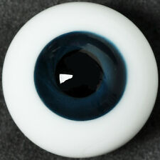 New 12MM Dark Blue BJD Eyes Outfit for SD DOD DZ AOD Volks Luts BJD Doll