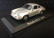 PORSCHE 911 S 1972 GREY - 911S - 1/43 NOREV CAR - CARS Miniatur-Auto-Sammlun