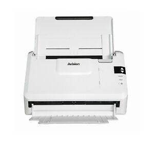 Avision AV332 Duplex Scanner bis zu 40ppm | A4 |Color 600dpi|50 Seiten ADF| USB