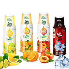 Getränkesirup 4erPack(4x500ml) | Fruchtsirup | für Soda Maschine geeignet