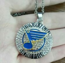 St. Louis Blues necklace 2019 Stanley Cup ChampionShip Hockey NHL Champions