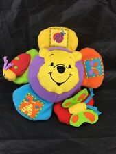 PLAYGRO *DISNEY *WINNIE THE POOH CLIP ON MUSICAL FLOWER ACTIVITY TOY.
