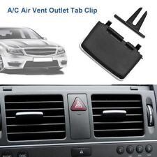 Black A/C Air Vent Outlet Tab Clip Repair Kit for Mercedes-Benz W204 C180 C200