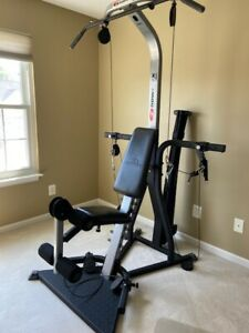 Bowflex Xceed Home Gym - Over 65 Exercises - Leg Extension, Ab Crunch, Squat Bar