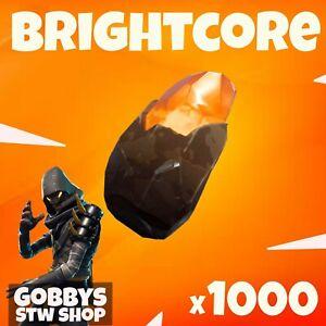 FORTNITE Save The World - 1000 BRIGHTCORE - 1K BRIGHTCORE - XBOX-PS4-PS5-PC