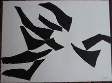 Alicia PENALBA Lithographie litografia Argentina 1970 Jean Arp Zadkine Brancusi