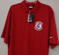 Cleveland Indians Nike Golf Swinging Chief Wahoo Mens Polo XS-6X, LT-4XLT NEW
