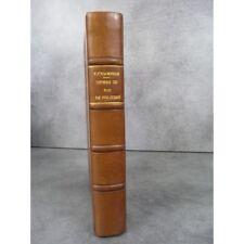 Pierre Champion Henri III roi de Pologne 1573-1574 bon exemplaire bien relié cui