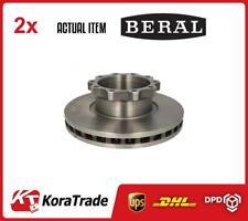 2 x BERAL dischi del freno Set BCR147A