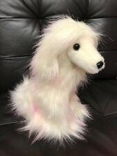 Brand New Purely Luxe Afghan Hound Aurora World White/Pink Valentine Collection