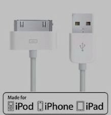 Genuine Charging Cable Charger Lead for Apple iPhone 4 4S 3GS iPod iPad2&1