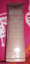 Christie Brinkley Complete Clarity Facial Wash 3 oz. *NEW & Sealed