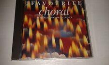 FAVOURITE CHORAL EMI CD: WOOD ORF BRITTEN IRVINE HARRIS HUMMEL MOZART ETC....