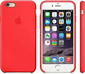 Genuine APPLE iPhone 6 / 6S Silicone Back Case || Red || MGQH2ZM/A