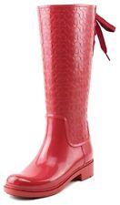 Women's Coach Signature Rain Boots - Red Size 8 - FG1876