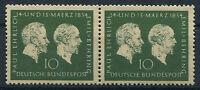 Bund Nr. 197 postfrisch waagerechtes Paar BRD 1954 Ehrlich u.Behring ungefaltet