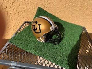 NCAA Riddell Mini Helm College Football Colorado Buffaloes Vintage