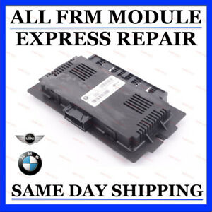 FRM FRM2 FRM3 Repair Service BMW Mini Cooper Footwell Module Fix + Code + Update