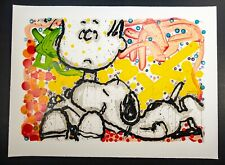 """Tom Everhart """"Super Sneaky""""- Lithography print"""