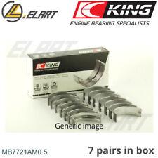 Main Shell Bearings +0.5mm for SSANGYONG,MUSSO,KORANDO,KORANDO Cabrio,CHAIRMAN