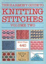 """""""Harmony"""" Guide to Knitting Stitches: v. 2,Lyric Books Ltd"""