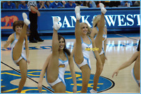 4x6 UNSIGNED  PHOTO PRINT OF NBA CHEERLEADERS #6