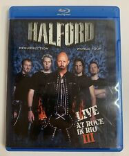 Halford Resurrection World Tour: Live At Rock In Rio III Blu-Ray