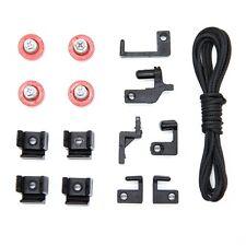 Elegant shower screen spare  parts/ shower screen rollers/ BLACK