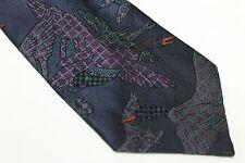 LANVIN Silk tie E46936 Made in Italy man classic