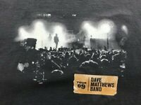 Dave Matthews Band 2009 Spring Summer Tour Men's Gray T Shirt Size Medium