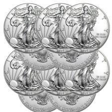 Lot of 10 Silver 2019 American Eagle 1 oz. Coins - .999 fine silver Eagles 1oz