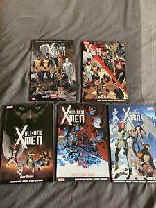 marvel trade paperback All-new X-men Vol 1-5