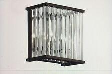 Dainolite Crystal Chandelier Bronze Wall Sconce Light ARU-82W-VOB