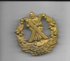 CAMERON HIGHLANDERS OF CANADA CAP BADGE