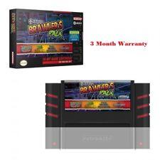 Retro-Bit Jaleco Brawler's Pack SNES Cartridge Multi-Cart Super NES