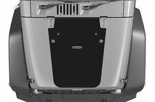 Vinyl Decal Blackout Hood Wrap Kit for Jeep Wrangler Rubicon 07-16 Matte Black