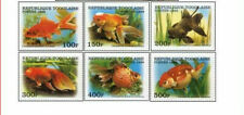 TOG9911Z Fishes 6 stamps MNH TOGO 1999